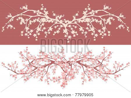 Spring Cherry Tree Decor