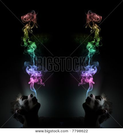 Rainbow Smoking