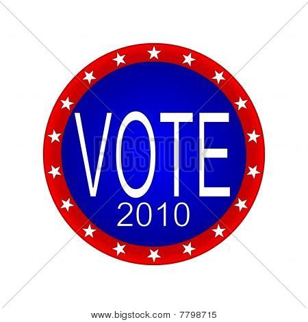 Vote 2010 Button