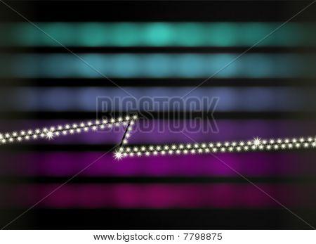 Stylish Disco Background