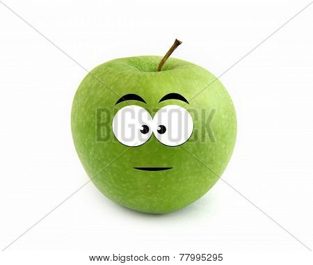 Serious apple