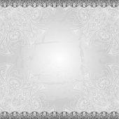 stock photo of indian wedding  - Vintage vector pattern - JPG