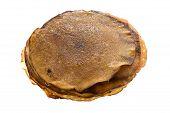Pancake Isolated On White Background