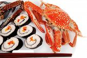 foto of blue crab  - Maki Sushi  - JPG