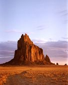 Shiprock New Mexico on the Navajo Reservation