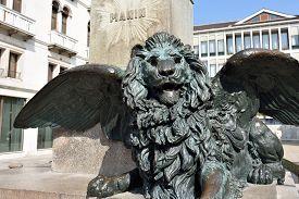 image of luigi  - Winged Lion at Campo Manin - JPG