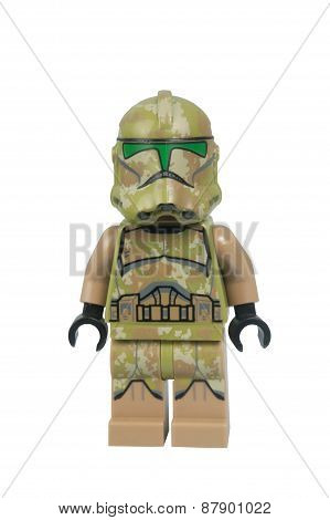 Kashyyyk Trooper Lego Minifigure
