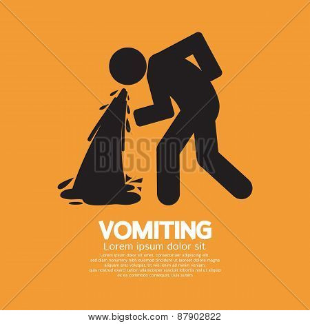 Vomiting Person.