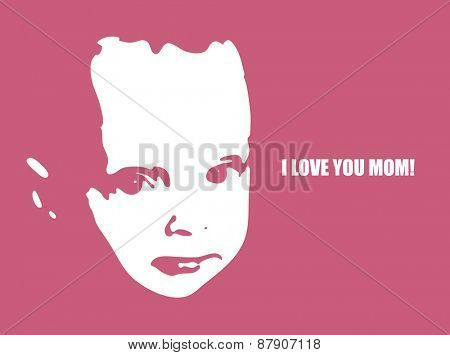 Mother's day. Vector illustration