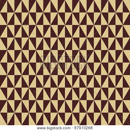 Geometric Seamless  Abstract Pattern with Triangles