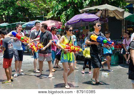 Songkran Partygoers