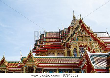 Art in Thailand temple