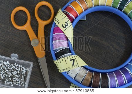 Around Sewing Threads