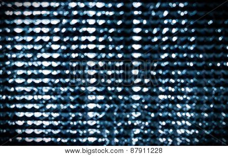 Bokeh Of Silver Blurry Square Background