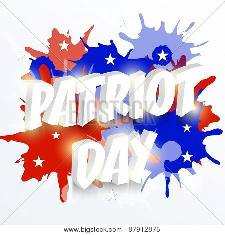 Patriot Day.
