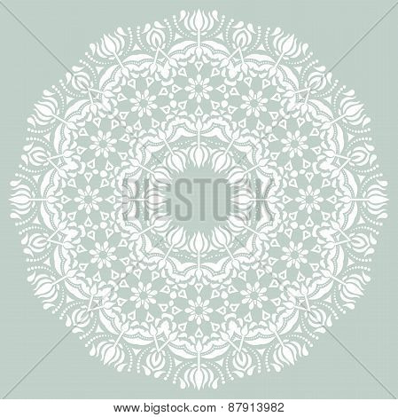 Damask  Pattern. Orient Ornament