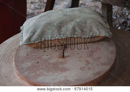 jar and pillow