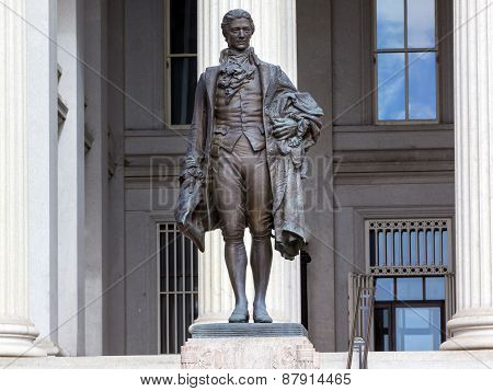 Us Treasury Department Alexander Hamilton Statue Washington Dc