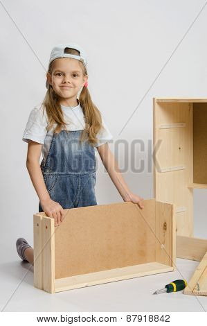 Girl Collects Furniture
