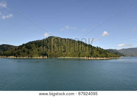 Cook Strait Landscape, Nz