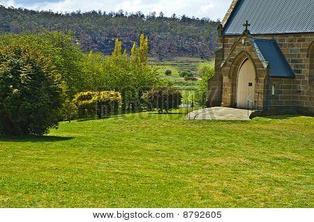 An Australian country Church