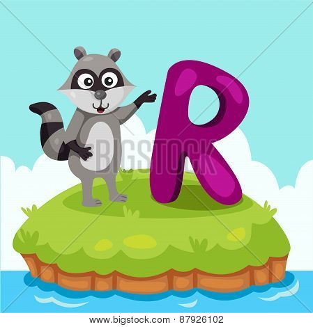 Illustrator of Letter 'R is for Raccoon'