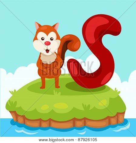 Illustrator of Letter 'S is for Squirrel'