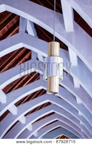 Decorative Lamp Under Arches