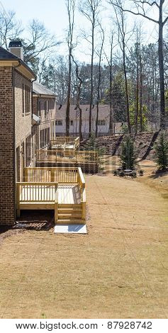 New Decks On Brick Homes