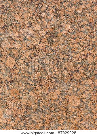 Red-brown Mottled Granite Texture