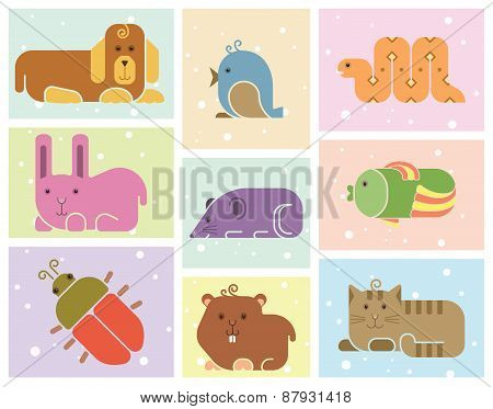 Zoo Animals Icons