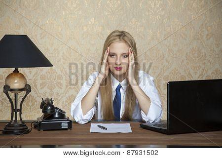 Headache Of Hard Work