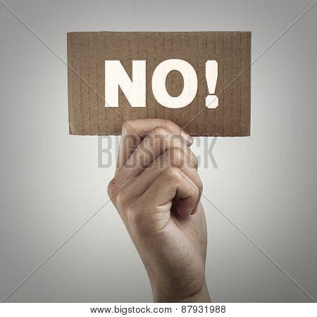 No Sign