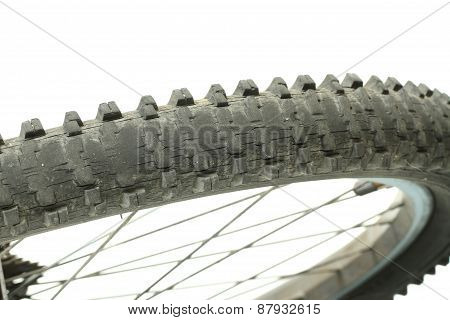Old Bicycle Tire