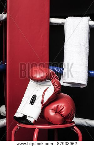 Boxing Ring Corner