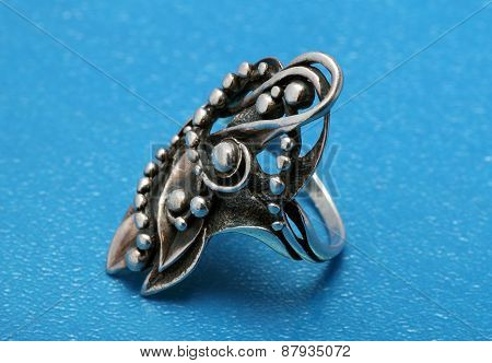 Stylish Silver Ring Large