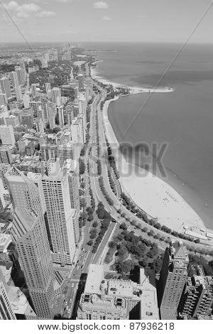 Chicago Black White
