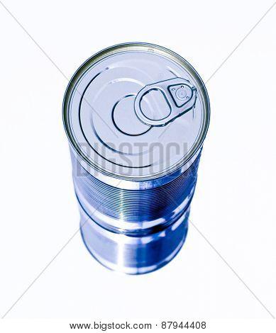 aluminum can lid