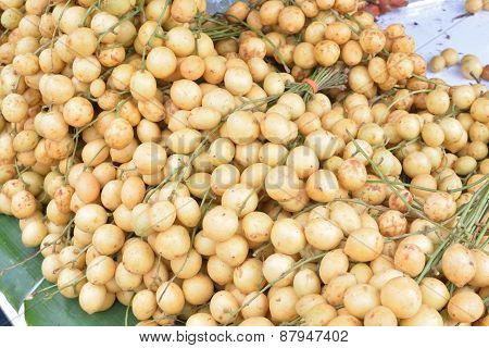 Baccaurea Ramiflora Lour Or Burmese Grape