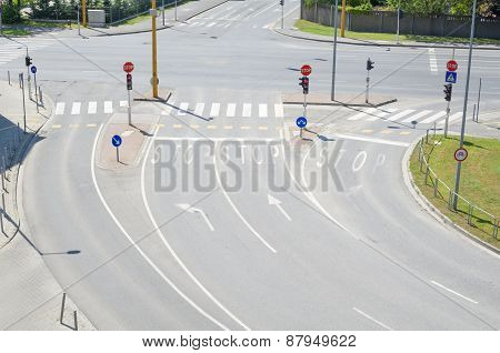 Urban Intersection