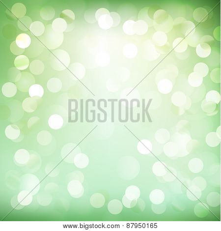 Abstract sunny defocused lights illustration - eps10