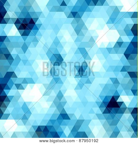 Abstract triangles pattern background - eps10 vector