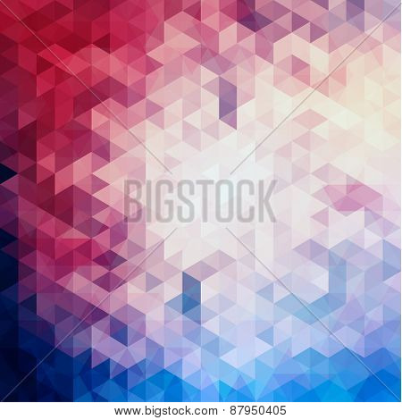 Colorful geometric background - eps10 vector