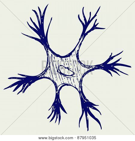 Illustration neuron