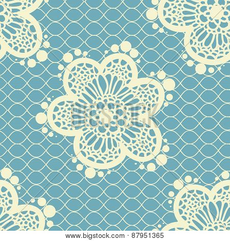 seamless lace pattern