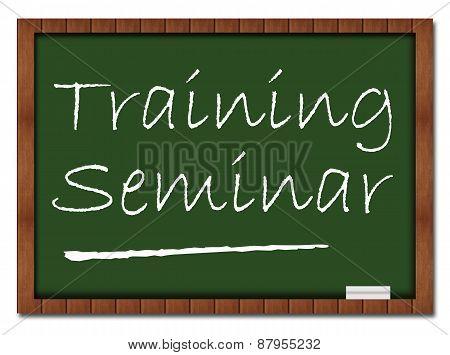 Training Seminar Classroom Board