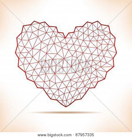 Geometric Heart.