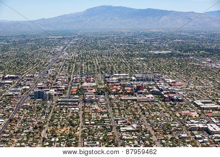 University Of Arizona Aerial View