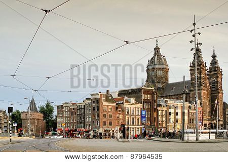 The Basilica of Saint Nicholas, Amsterdam, Netherlands
