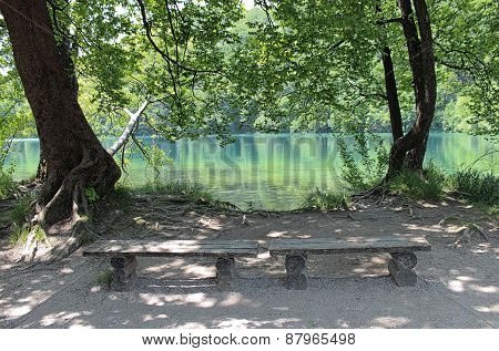 Resting Place In Plitvice
